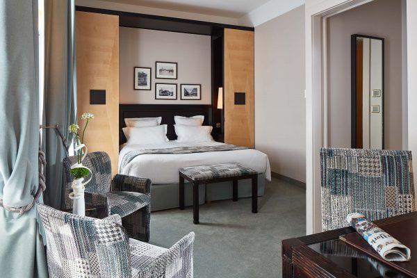 Chambre Superieure Double de l'Hotel 4 étoiles Regent Contades à Strabourg Centre