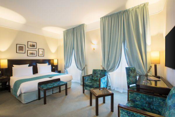 Chambre Superieure Twin de l'Hotel 4 étoiles Regent Contades à Strabourg Centre