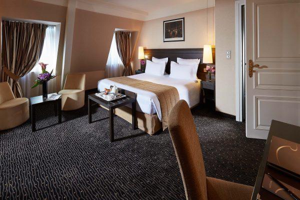 Chambre Junior Suite de l'Hotel 4 étoiles Regent Contades à Strabourg Centre