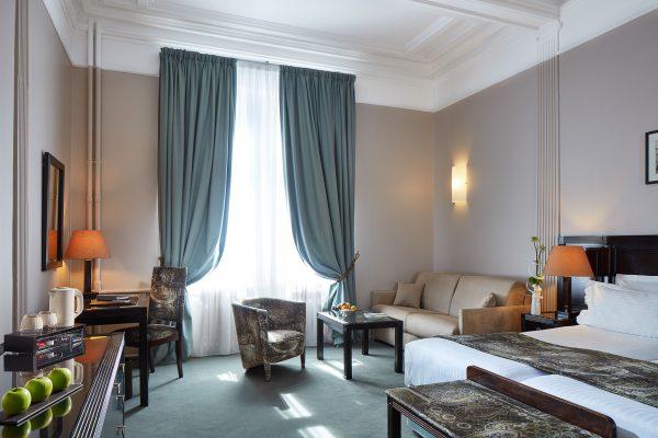 Junior Suite Twin Panorama de l'Hotel 4 étoiles Regent Contades à Strabourg Centre