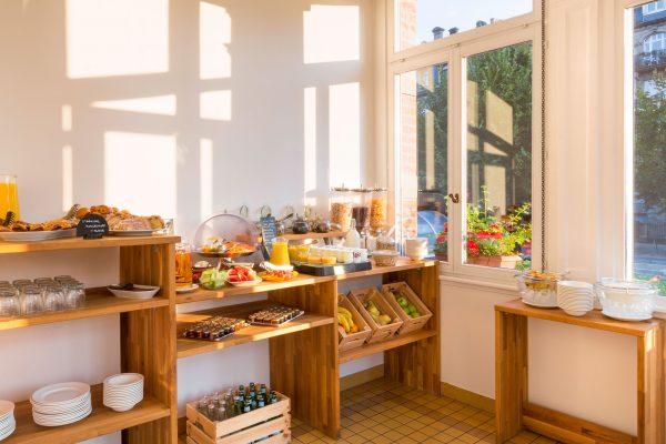Petit Déjeuner de l'Hotel 4 étoiles Regent Contades à Strabourg Centre