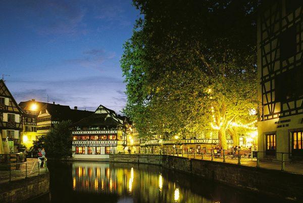 Petite France près de l'Hotel 4 étoiles Regent Contades à Strabourg Centre